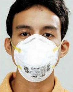 how to wear surgery mask