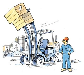 Forklift-cartoon