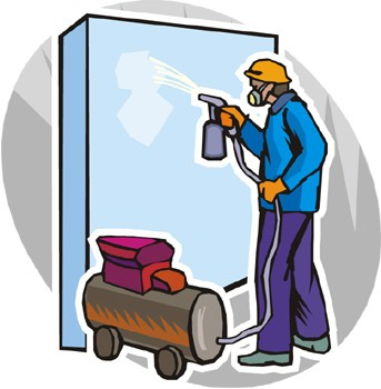 how a paint spray gun works the manufacturer. Black Bedroom Furniture Sets. Home Design Ideas